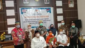 Drs H M.Dawam Raharjo M.si Dan Azwar Hadi SE M.si Di Tetapkan Sebagai Bupati Dan Wakil Bupati Kabupaten Lampung Timur