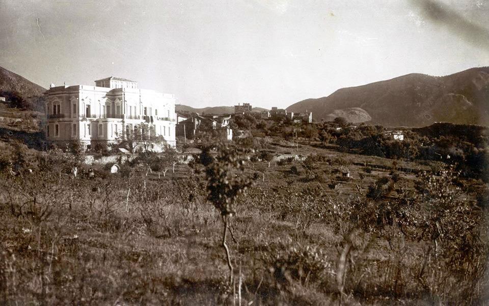 Ηγουμενίτσα - Εικόνες από τα παλιά  Το αρχοντικό του Πιτούλη στις αρχές του αιώνα
