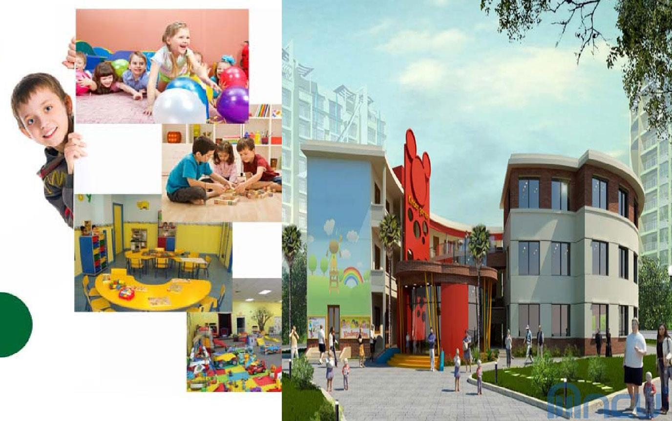 Trường học tại dự án Sky Park Residence Cầu Giấy