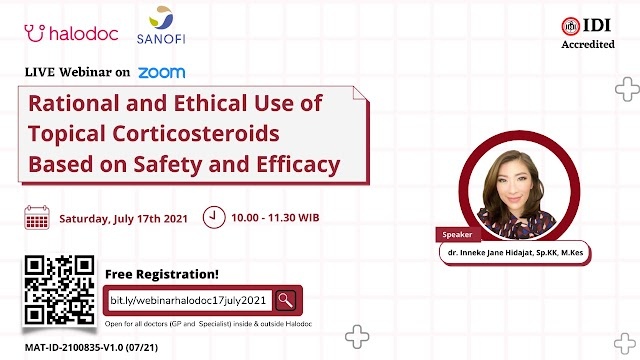 (FREE SKP IDI) *Rational and Ethical Use of Topical Corticosteroids Based on Safety and Efficacy*