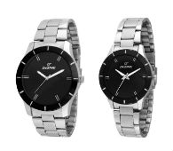 Dezine Watches Set of 2 (Ladies & Gents) For Rs 599 at Amazon