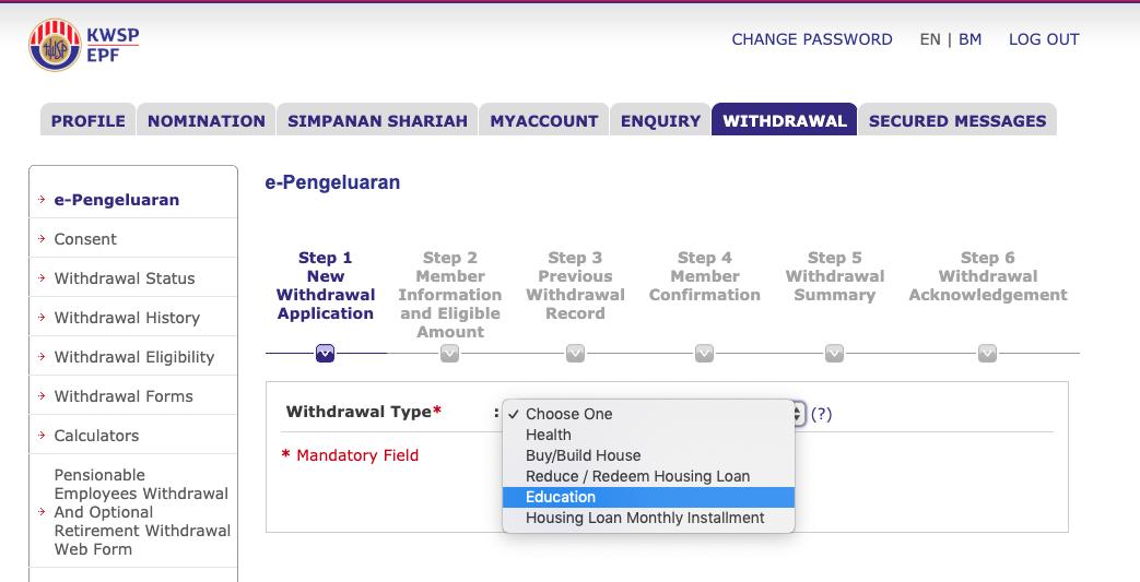 Cara Keluarkan Duit Kwsp Untuk Pembayaran Ptptn Notifikasi Penyelesaian Hutang Ptptn Scribbledydum Mira Cikcit
