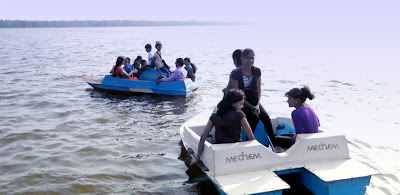 Boating at Tampara Lake, Chatrapur, Boating Club, Ganjam Tourism