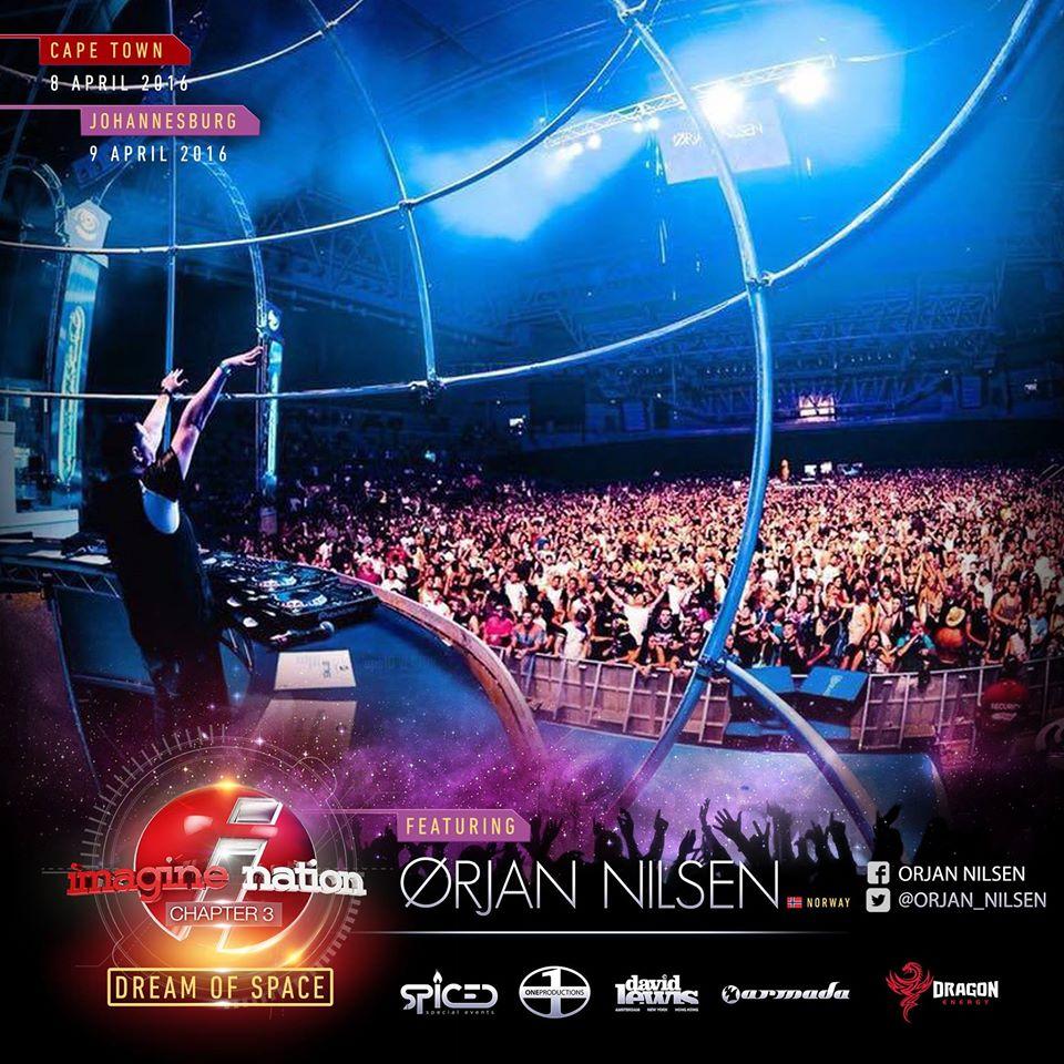 Orjan nilsen south africa tour 2016