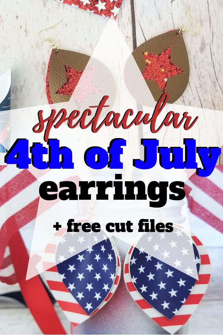 Spectacular And Free Patriotic Earring Cut Files Sew Simple Home