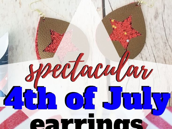 Spectacular and Free Patriotic Earring Cut Files