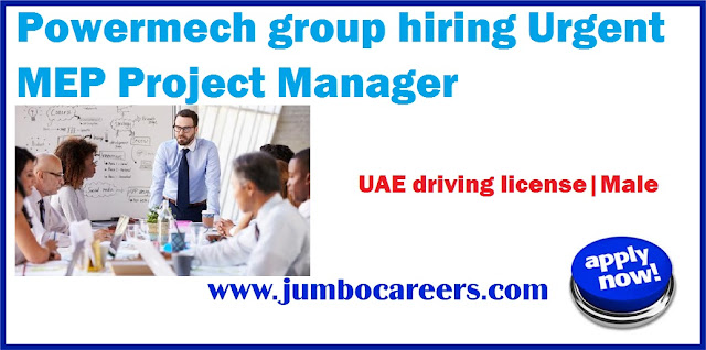 MEP-Project-Manager , mep manager salary in uae