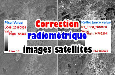 Correction radiométrique des images satellites