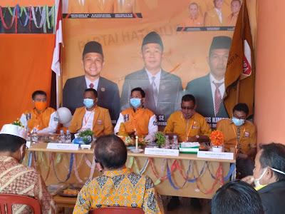 DPC Hanura Sanggau rayakan ultah Partai Hanura ke-14 sesuai prokes Covid-19