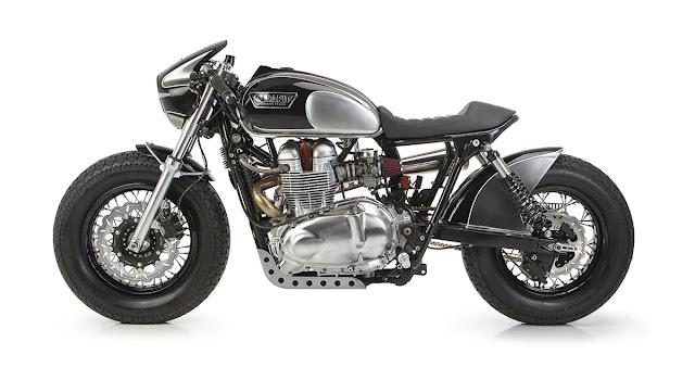 Triumph By Tamarit Motorcycles Hell Kustom