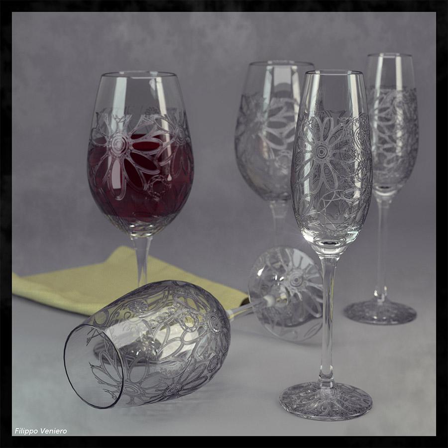 Comment Fabriquer Du Verre : blender 4d tutoriel graver des verres dans blender ~ Nature-et-papiers.com Idées de Décoration