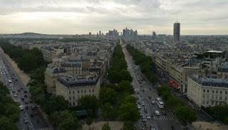 Arco de Triunfo de París.
