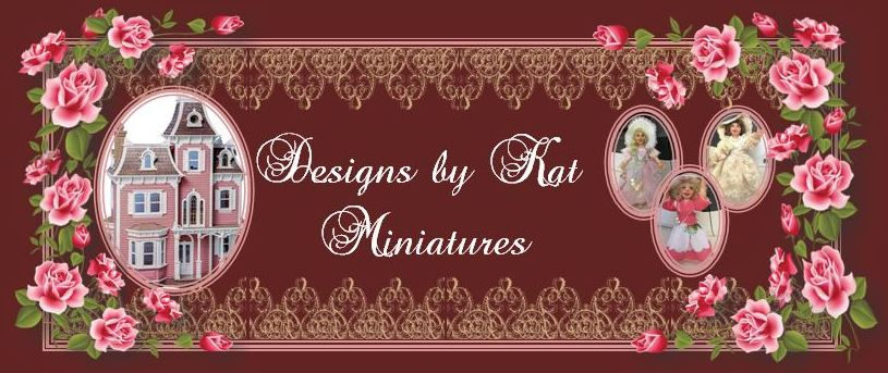 Designs by Kat  Miniatures