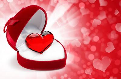 صورة قلب اهداء شكله جميل جداً