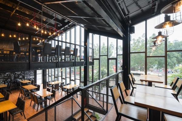 thiết kế kết cấu thép nhà hàng tphcm