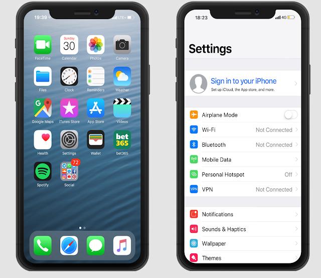Download Tema Pure iOS 12 MTZ MIUI 10 Terbaru