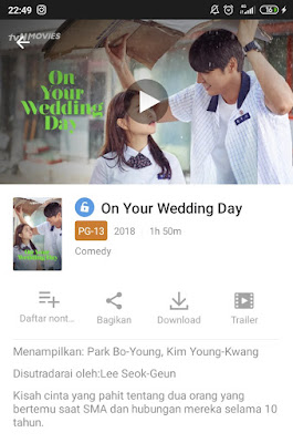 film on your wedding day