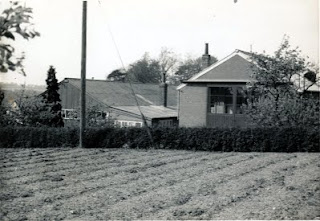 Fisk's Garage rear of workshop 1959/60