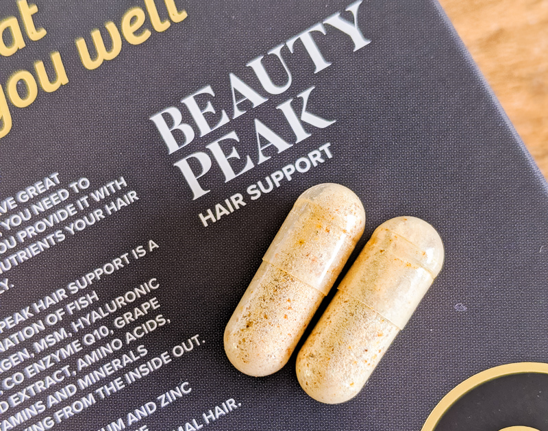 Beauty Peak Hair Capsules