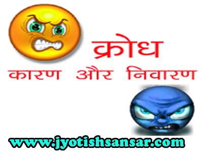 krodh ka jyotish upaay in hindi