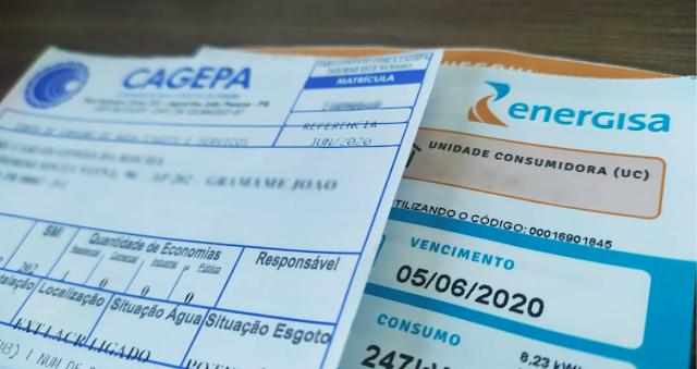 Projeto que permite parcelamento de débitos com água e energia durante pandemia é aprovado na PB