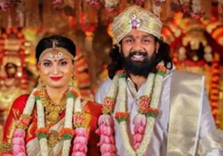Dhruva Sarja Family Wife Biography Parents children's Marriage Photos