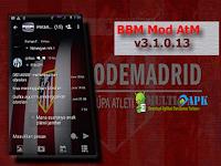 BBM Mod Atletico Madrid Theme v3.1.0.13 Multiapk