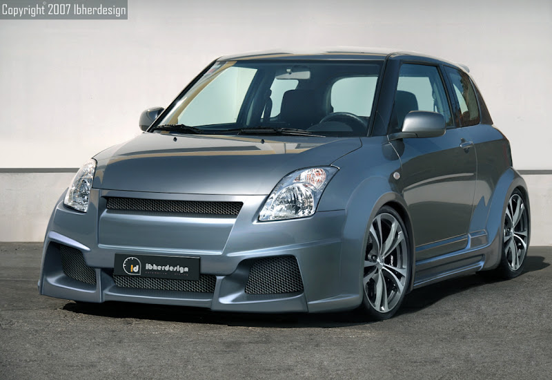 Inspirasi Modifikasi Suzuki Swift title=