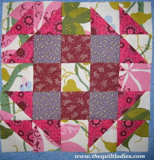 English Wedding Ring Quilt Pattern Block