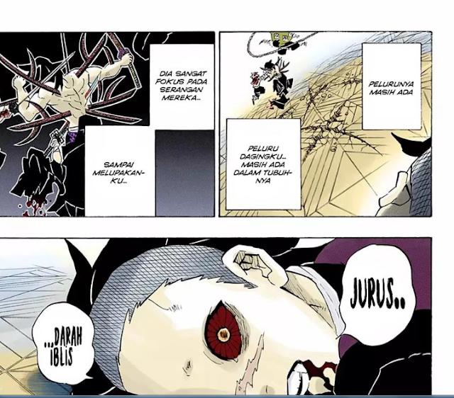 Spoiler manga Kimetsu No Yaiba 176 I Kokushibou Kalah