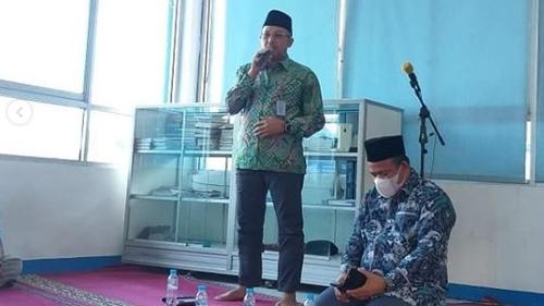 Wirid Mingguan Kembali Digelar di Perumda Air Minum Kota Padang