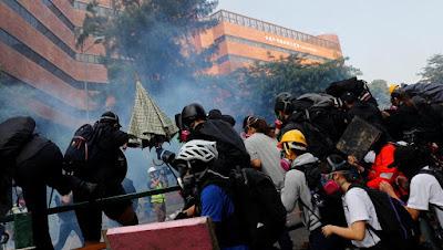 Bộ Quốc Phòng Trung Quốc : Cấp thiết chấm dứt bạo lực ở Hồng Kông