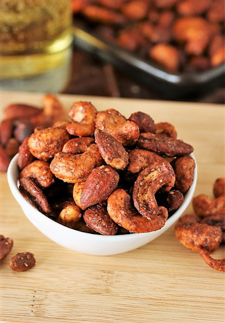 Homemade BBQ Mixed Nuts Image