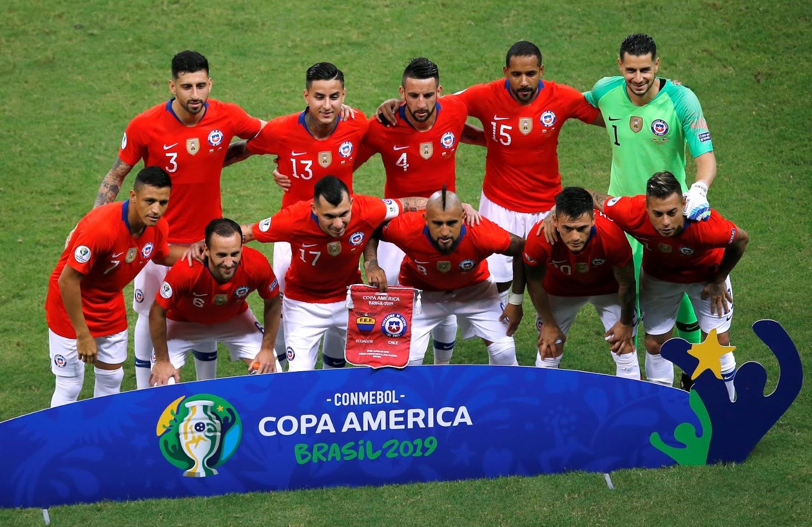 Formación de Chile ante Ecuador, Copa América 2019, 21 de junio