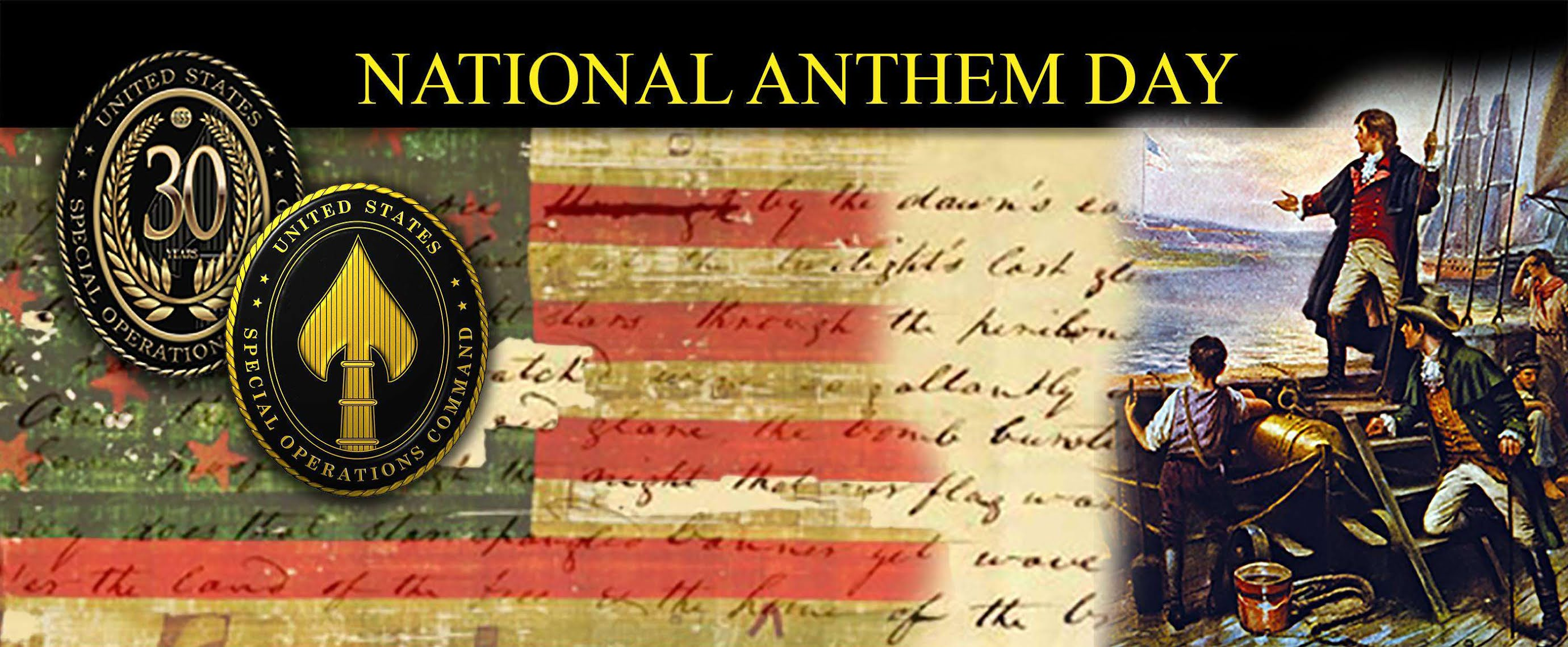 National Anthem Day Wishes