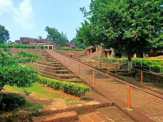 Bhubaneswar Khandagiri Cave on World Tourism Day