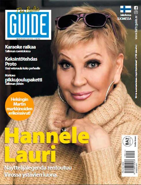 Baltic Guide 2019 marraskuu, Tallinna tutuksi, infolehti