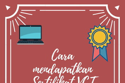 Cara mendapatkan sertifikat VCT Virtual Coordinator Training SEAMEO SEAMOLEC