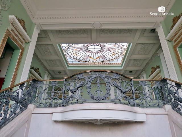 Palacete Violeta (guarda-corpo da Escadaria)