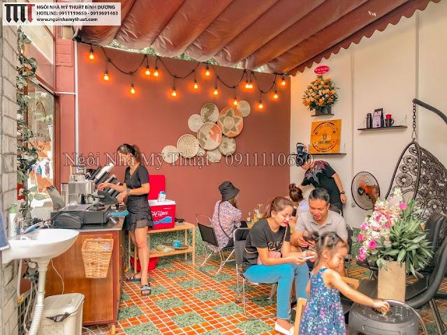 Quán cafe đẹp nhất Bình Dương