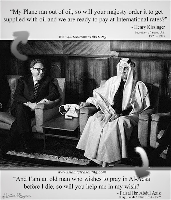 King Faisal and Henry Hissinger