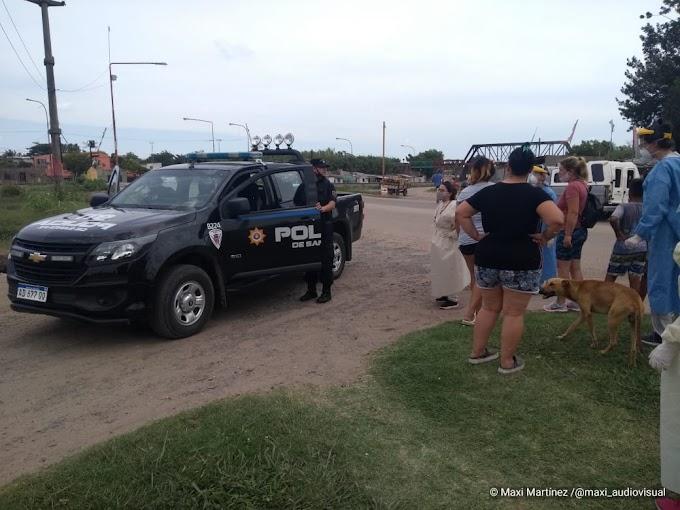 """Un nene fue atropellado por un motociclista que hacia """"willi"""" en Caseros y Libertador"""