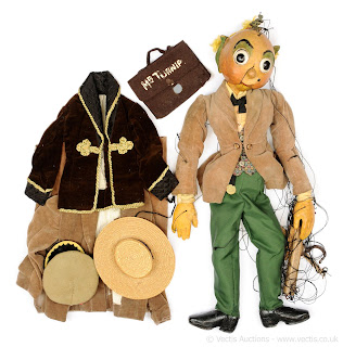 Mr Turnip was created and operated by renowned puppeteer Joy Laurey. As the show was broadcast live Mr Turnip had many more strings than a conventional puppet, allowing for a greater range of movement by Joy.