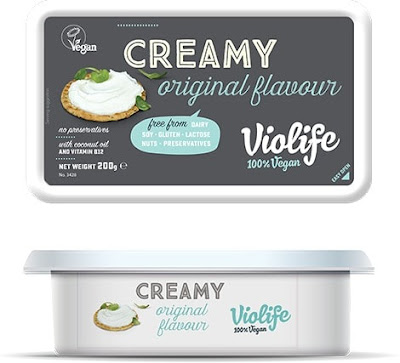 Tub of Violife Original Creamy