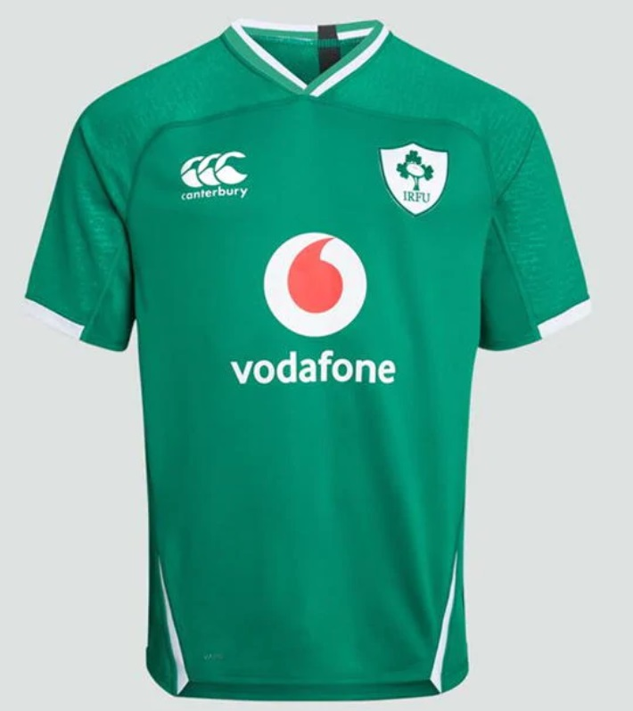 Ireland Six Nations Rugby 2020 kit