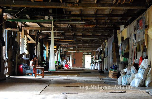 Longhouse in Delok Batang Ai