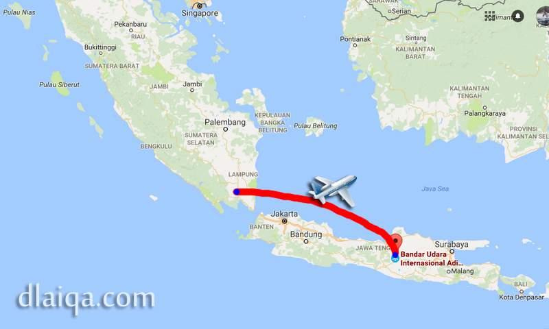 D Laiqa Arena Terbang Langsung Dari Lampung Ke Solo