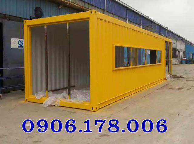bán container làm văn phòng giá rẻ