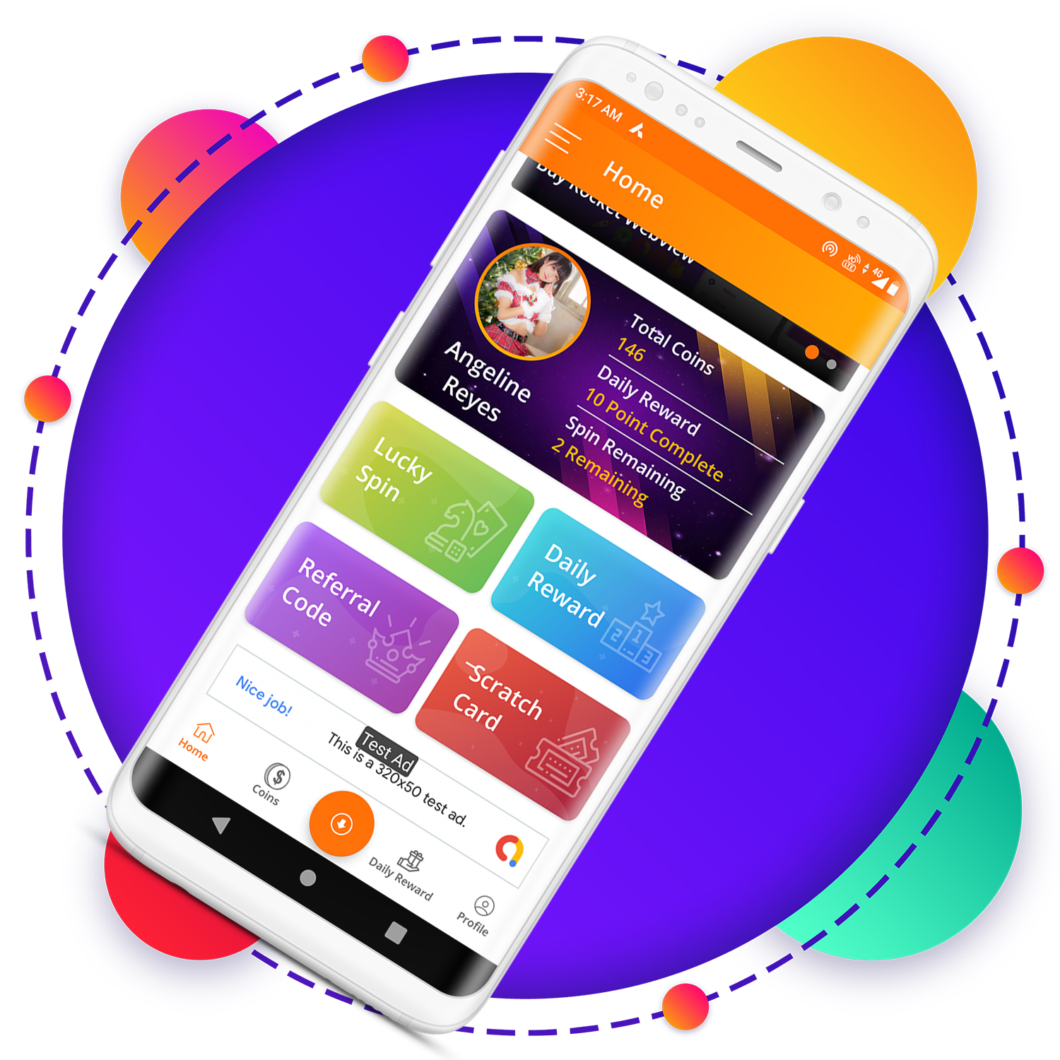 QuickCash All In One Money Earning Android App + Games + WhatsApp Tools + Earning System Admin Panel - 5