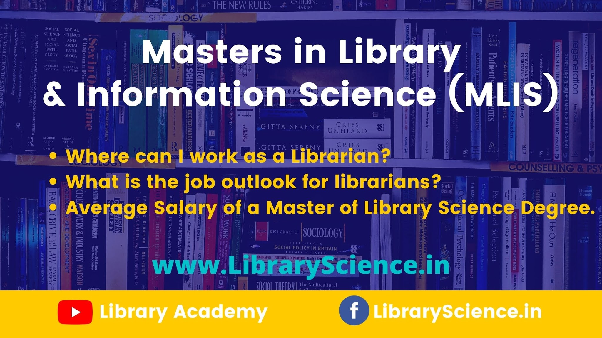 Masters in Library and Information Science